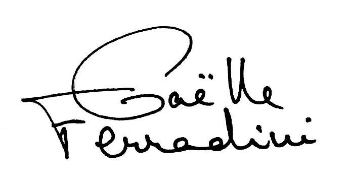 Gaëlle Ferradini Logo