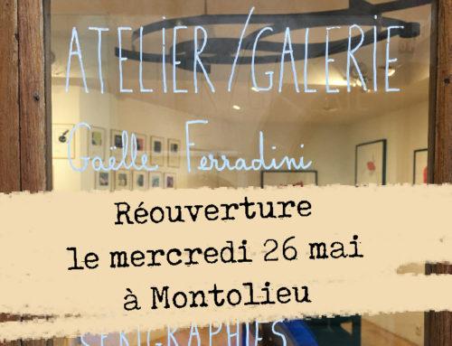 Ré-ouverture de l'Atelier Galerie Gaëlle Ferradini
