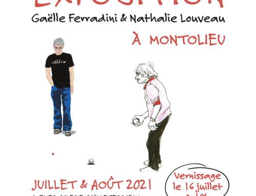 [EXPOSITION] Nathalie Louveau & Gaëlle Ferradini, juillet & août 2021